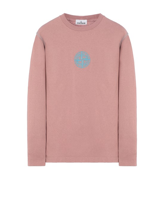 STONE ISLAND 20744 Long sleeve t-shirt Man Pink Quartz