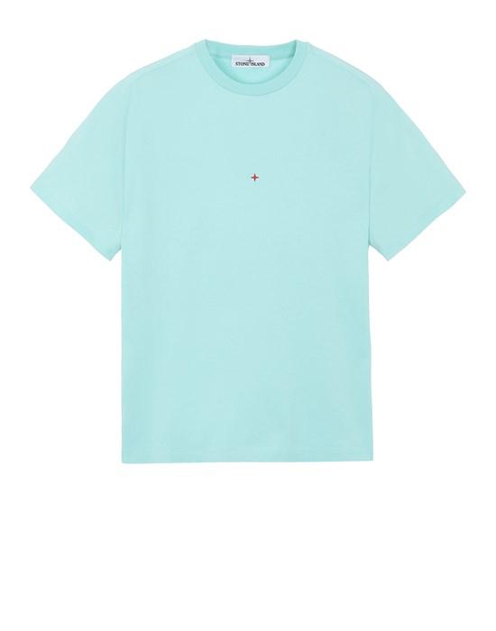 T-Shirt 216X3 STONE ISLAND MARINA<br>POLYESTER SEAQUAL® YARN/COTTON JERSEY  STONE ISLAND - 0
