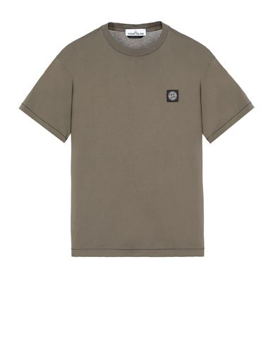 STONE ISLAND 24113 Short sleeve t-shirt Man Olive Green EUR 109