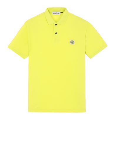 STONE ISLAND 22R39 Polo shirt Man Pistachio Green EUR 125
