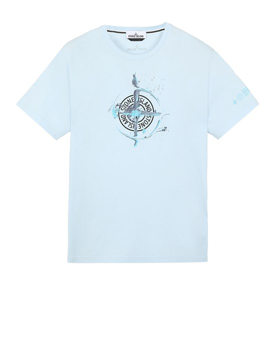 T-Shirt Herr 2NS83 'MARBLE ONE' Front STONE ISLAND