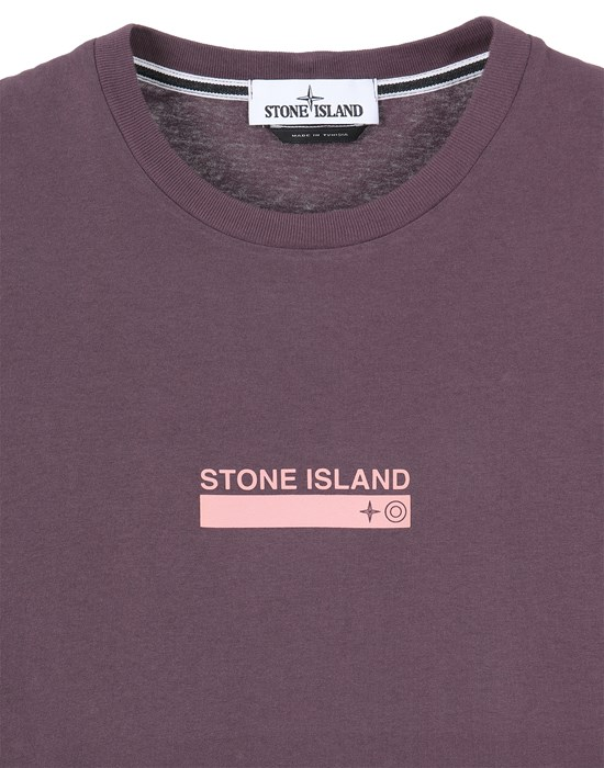 12513050hq - Polo - T-Shirts STONE ISLAND