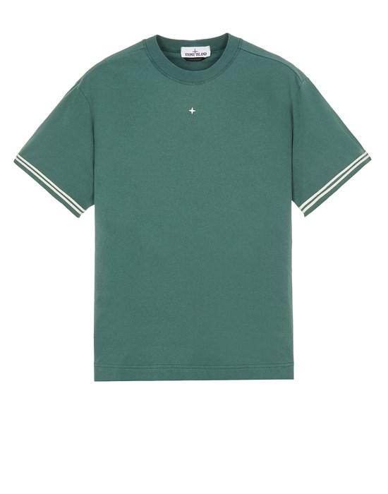 STONE ISLAND 21358 Short sleeve t-shirt Man Dark Teal Green