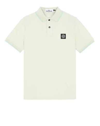 STONE ISLAND 22S18 Polo shirt Man Light Green EUR 125