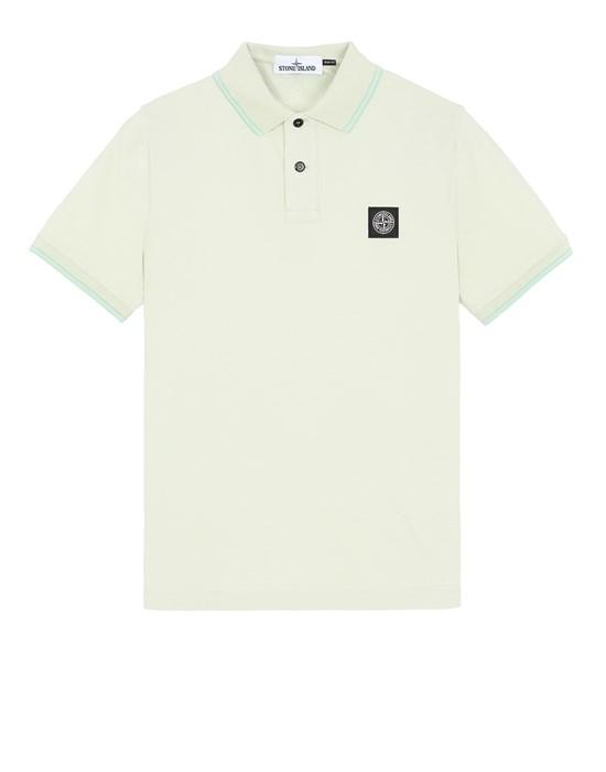 STONE ISLAND 22S18 Polo shirt Man Light Green