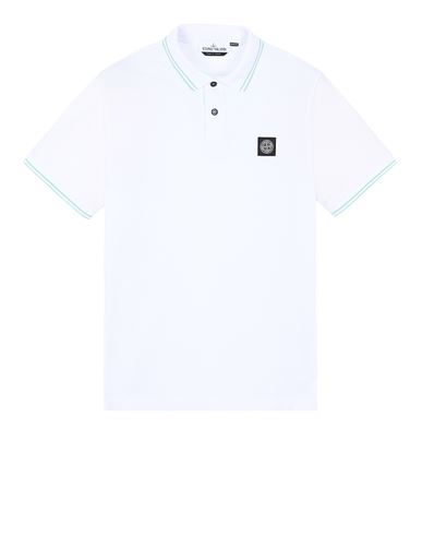 STONE ISLAND 22S18 Polo shirt Man White EUR 134