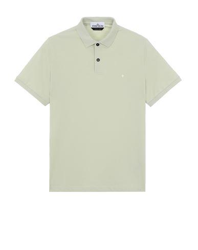 STONE ISLAND 21717 Polo shirt Man Light Green EUR 125