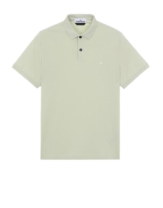 STONE ISLAND 21717 Polo shirt Man Light Green