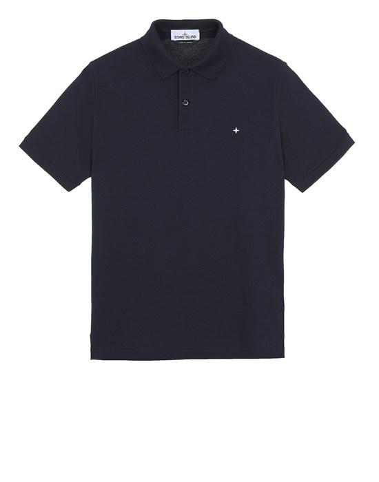STONE ISLAND 21717 Polo shirt Man Blue
