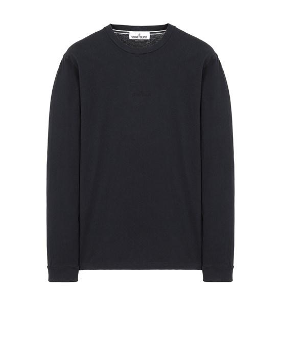 Long sleeve t-shirt Man 2ML82 'STENCIL THREE' Front STONE ISLAND
