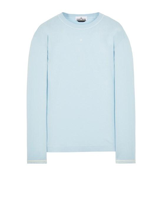 STONE ISLAND 21458 Long sleeve t-shirt Man Sky Blue