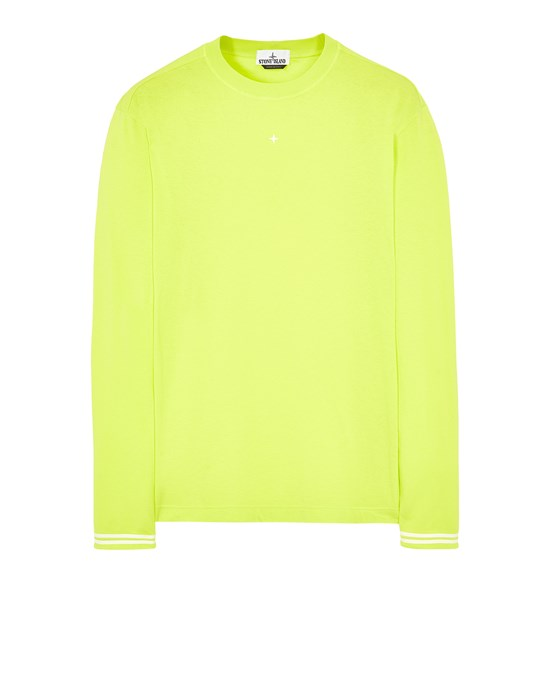 STONE ISLAND 21458 Long sleeve t-shirt Man Pistachio Green