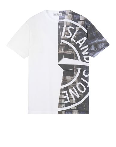STONE ISLAND 2NS88 'URBAN 3' Short sleeve t-shirt Man White USD 195