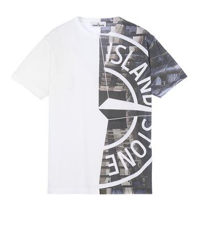 STONE ISLAND 2NS88 'URBAN 3' Short sleeve t-shirt Man White EUR 189