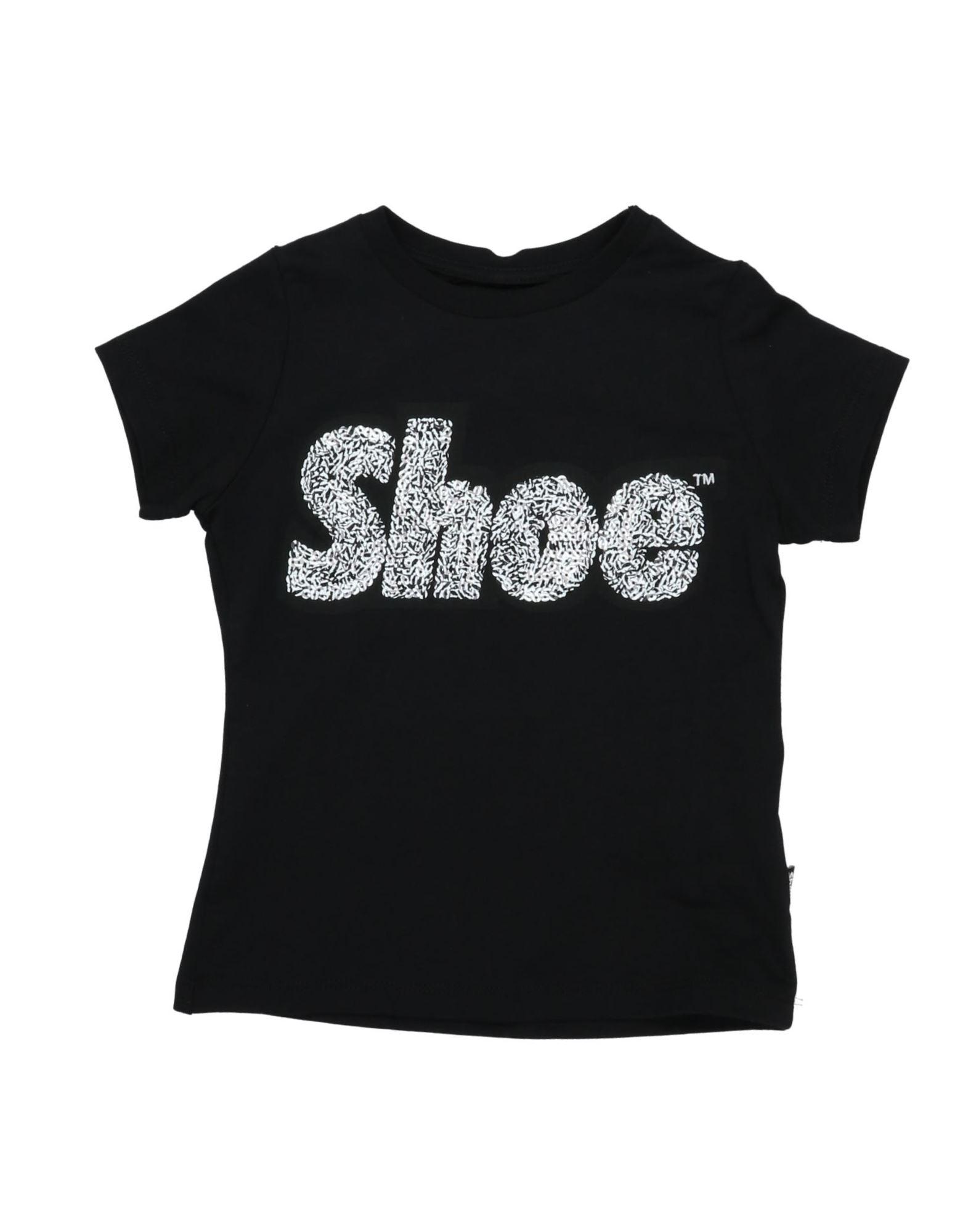 Shoeshine Kids' T-shirts In Black