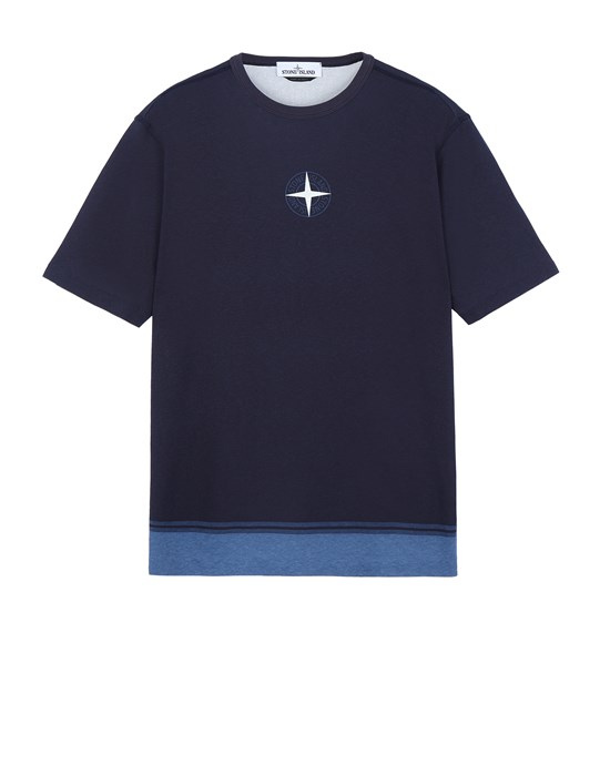 STONE ISLAND 23341 Short sleeve t-shirt Man Marine Blue