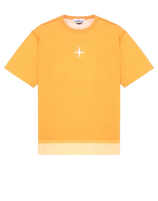 STONE ISLAND 23341 Short sleeve t-shirt Man Orange