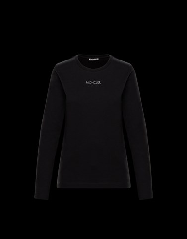 LONG-SLEEVED T-SHIRT Black Category Long-Sleeved T-Shirts Woman