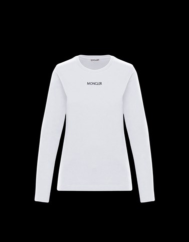LONG-SLEEVED T-SHIRT White Category Long-Sleeved T-Shirts Woman