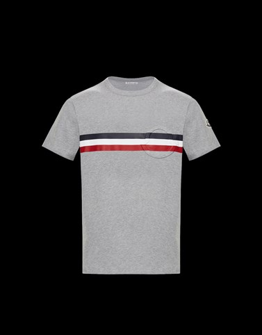 T-SHIRT Grau Polos & T-Shirts Herren