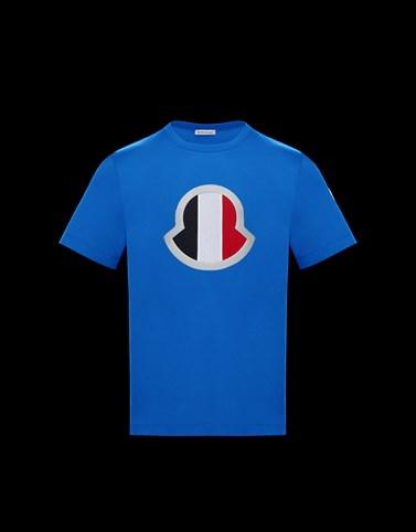 T恤 蓝色 Polo 衫及 T 恤 男士