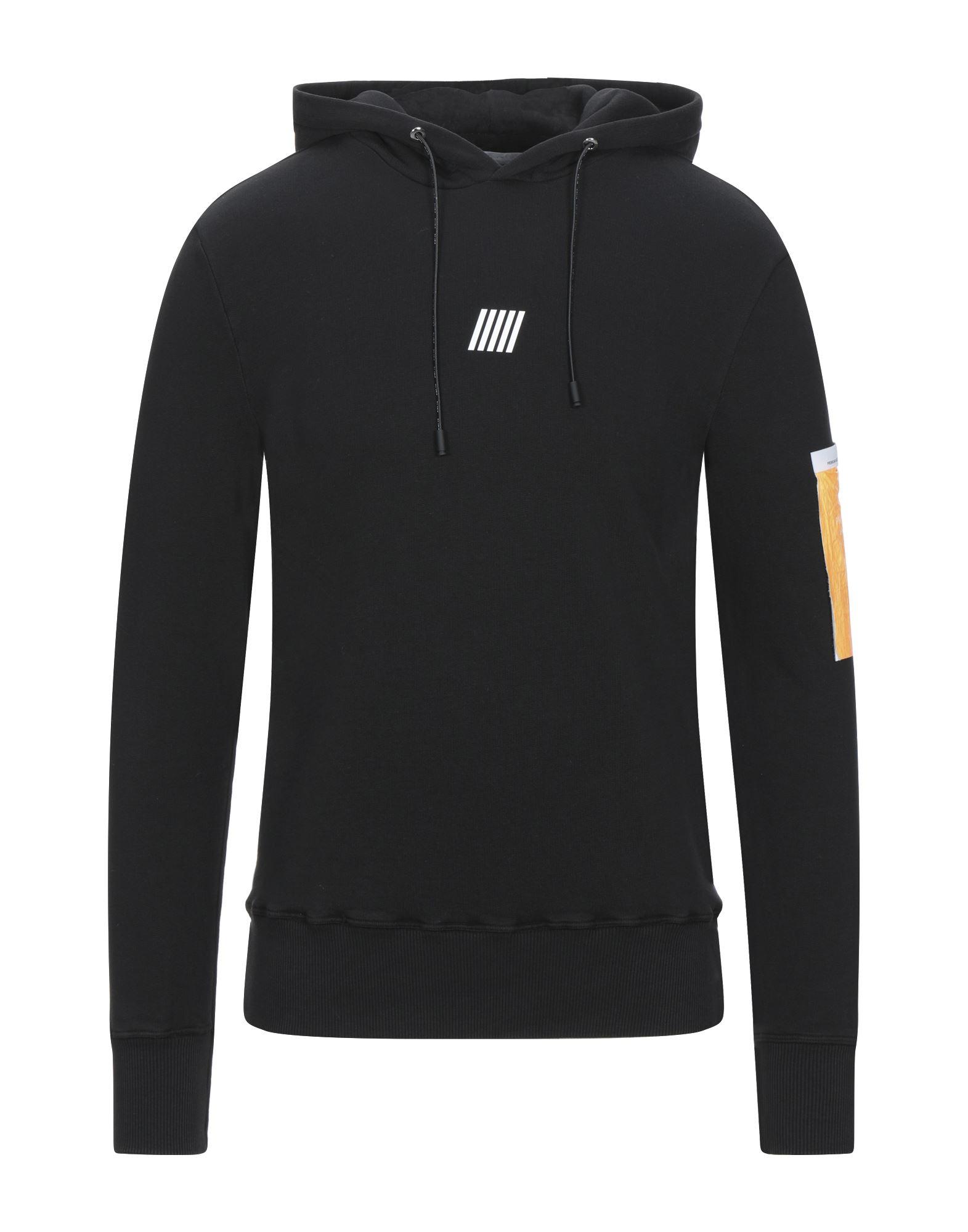 《セール開催中》PMDS PREMIUM MOOD DENIM SUPERIOR メンズ スウェットシャツ ブラック S コットン 100%