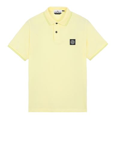 STONE ISLAND 22S18 Polo shirt Man Lemon EUR 125