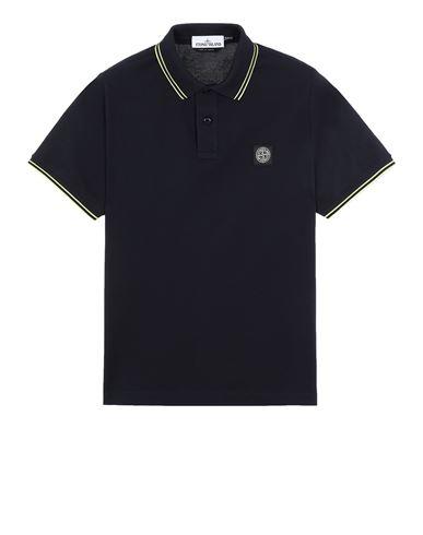 STONE ISLAND 22S18 폴로 셔츠 남성 블루 KRW 195980