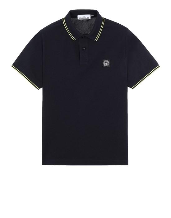STONE ISLAND 22S18 Polo shirt Man Blue