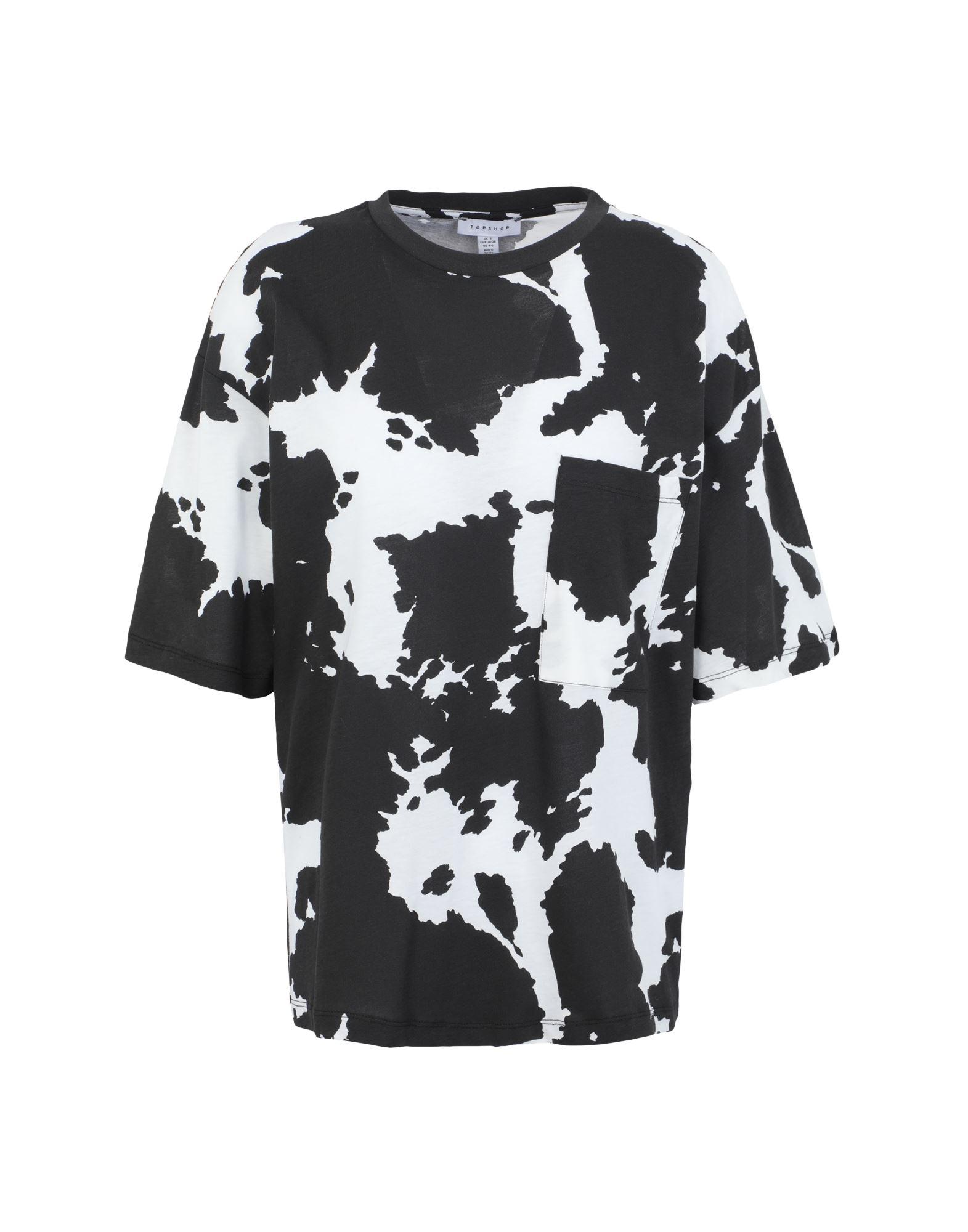 TOPSHOP Футболка футболка topshop topshop to029ewhhiz1