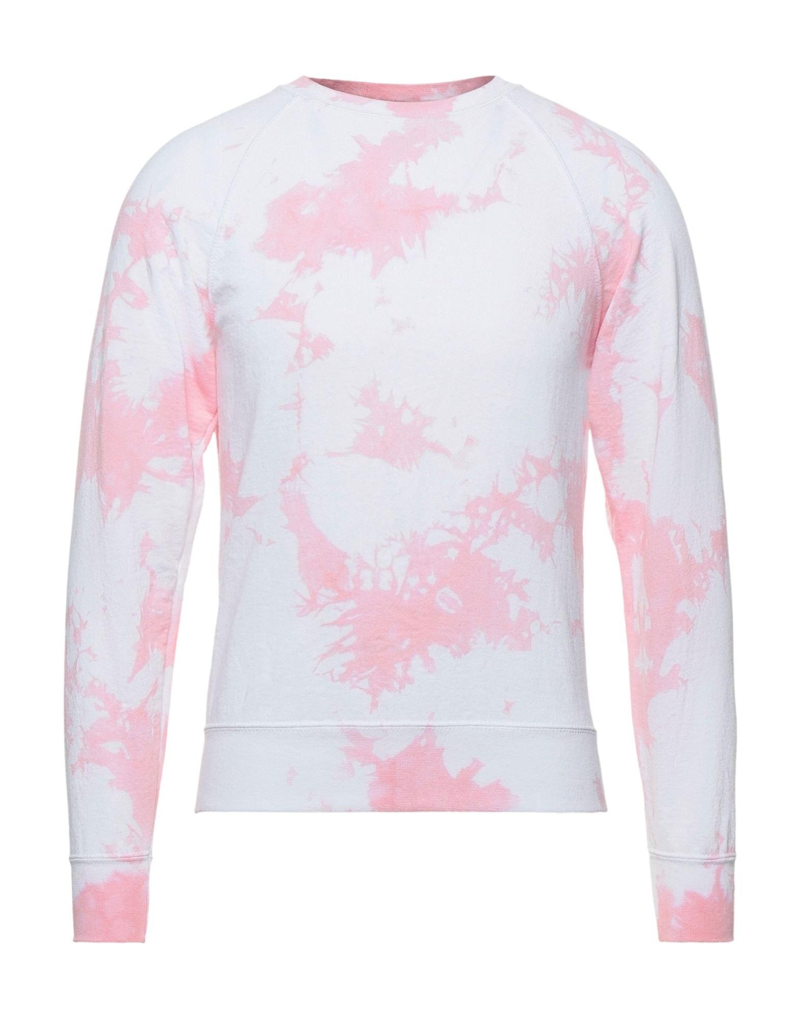 《セール開催中》DANIELE ALESSANDRINI HOMME メンズ スウェットシャツ ピンク S コットン 80% / ポリエステル 20%