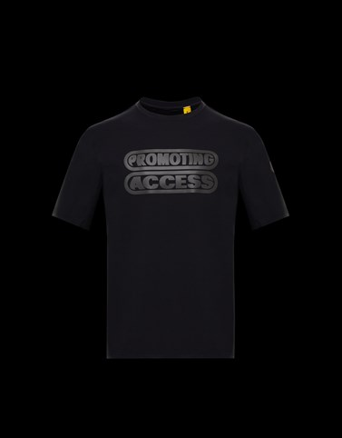 T-SHIRT Black Polos & T-Shirts Man