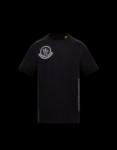 T恤 黑色 2 Moncler 1952 男士