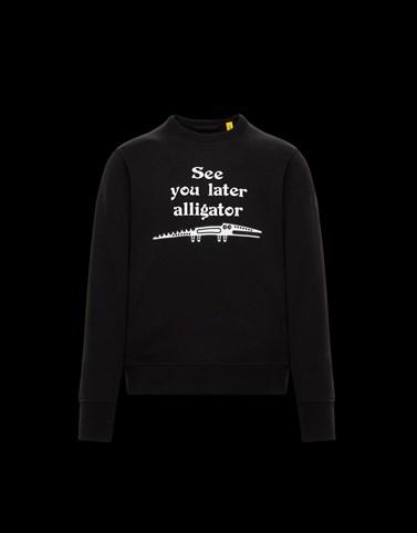 CREWNECK Black Sweatshirts Man