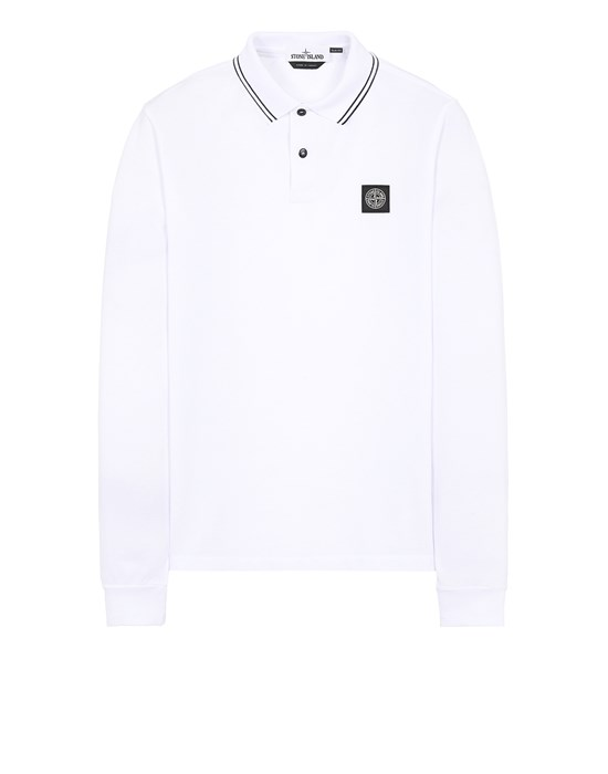 STONE ISLAND 2SS18 Polo shirt Man White