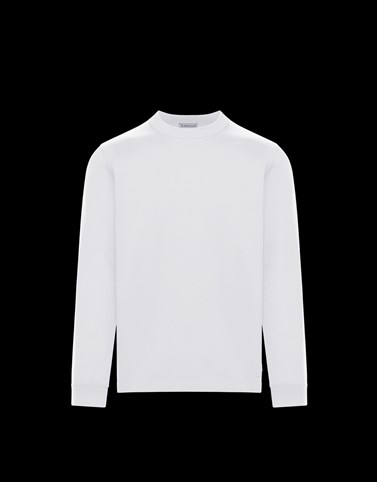 LONG-SLEEVED T-SHIRT White Polos & T-Shirts Man