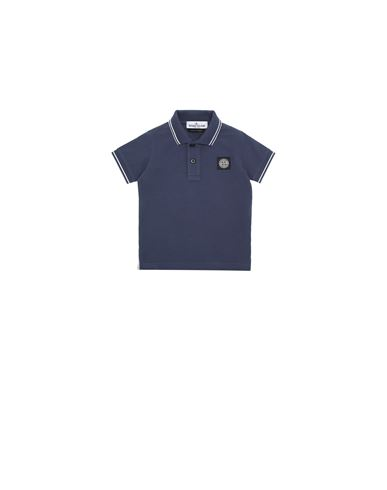 STONE ISLAND BABY 21348 Polo shirt Man Marine Blue USD 100