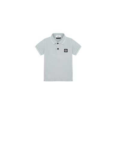 STONE ISLAND BABY 21348 Polo shirt Man Dust Gray USD 84