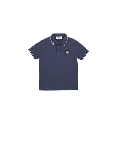 STONE ISLAND KIDS 21348 Polo shirt Man Marine Blue EUR 88