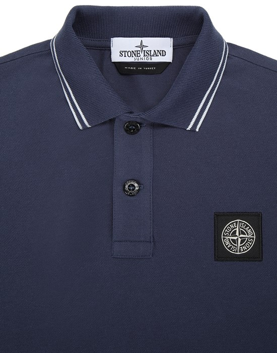 12536688bu - Polo - T-Shirts STONE ISLAND JUNIOR