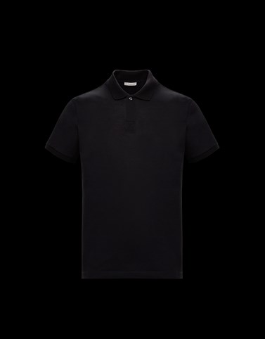 POLO衫 黑色 Polo & shirts 男士