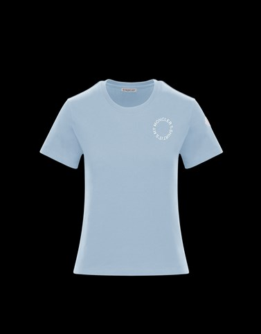 T-SHIRT Sky blue Category T-shirts Woman