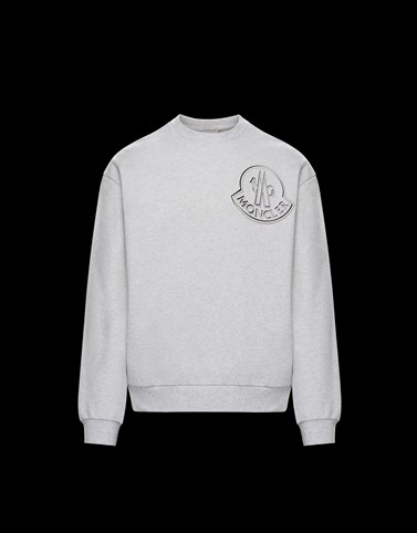 SWEATSHIRT Light grey Category Sweatshirts Man