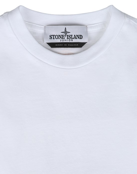 12543047eu - Polo - T-Shirts STONE ISLAND JUNIOR