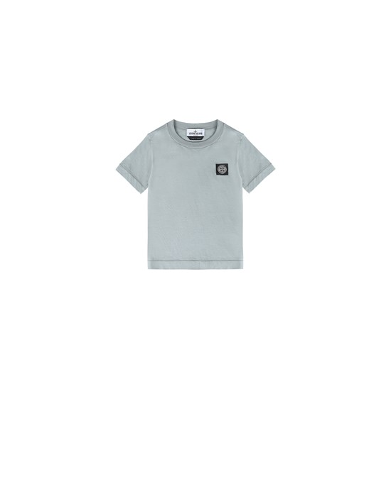 STONE ISLAND JUNIOR 20147 Short sleeve t-shirt Man Dust Grey