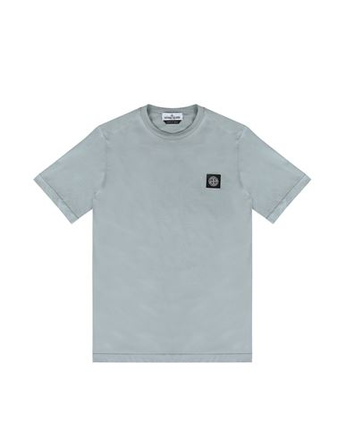 STONE ISLAND TEEN 20147 Short sleeve t-shirt Man Dust Gray USD 127