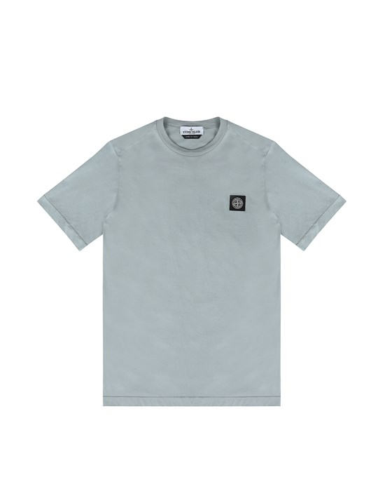 STONE ISLAND JUNIOR 20147 Short sleeve t-shirt Man Dust Gray