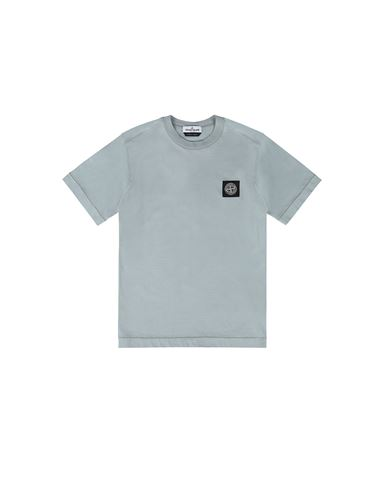 STONE ISLAND JUNIOR 20147 Short sleeve t-shirt Man Dust Gray USD 115