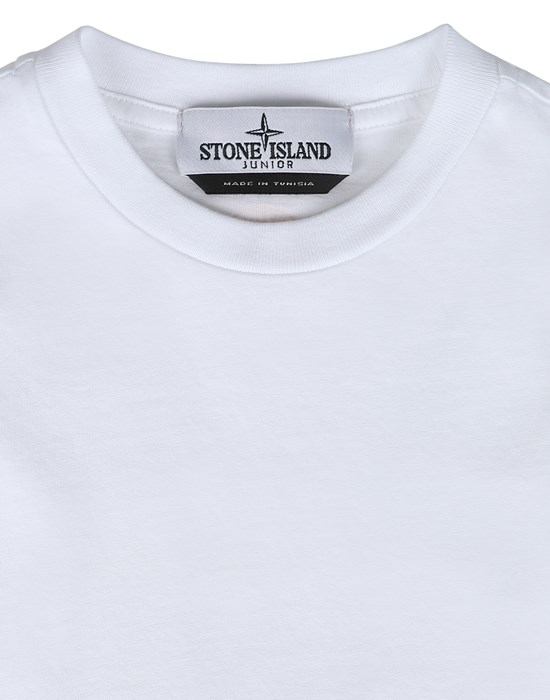 12543065qn - Polo - T-Shirts STONE ISLAND JUNIOR
