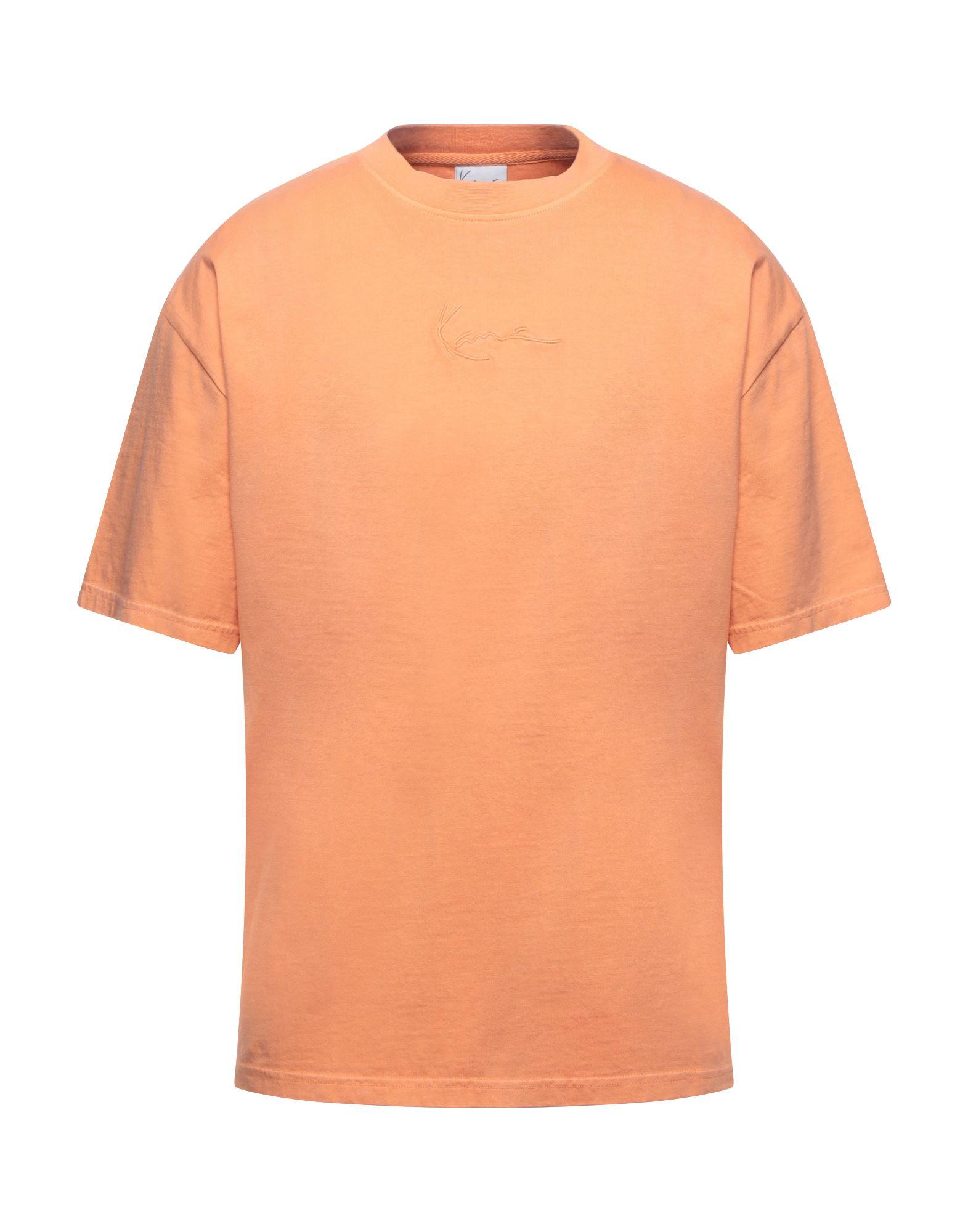 《セール開催中》KARL KANI メンズ T シャツ オレンジ XS コットン 100%